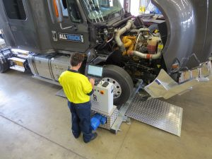 Truck brake and suspension testing