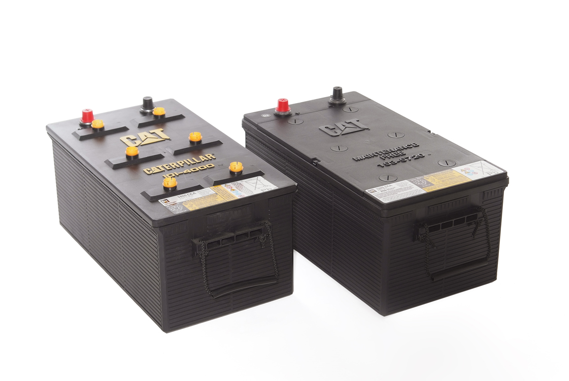 Caterpillar premium high output batteries