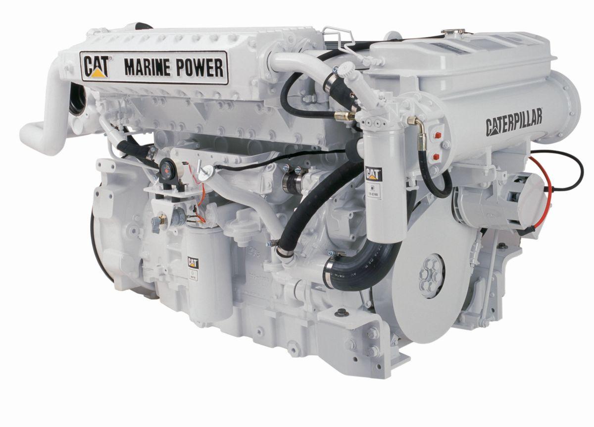 C12 High Performance Marine Propulsion Engine Page
