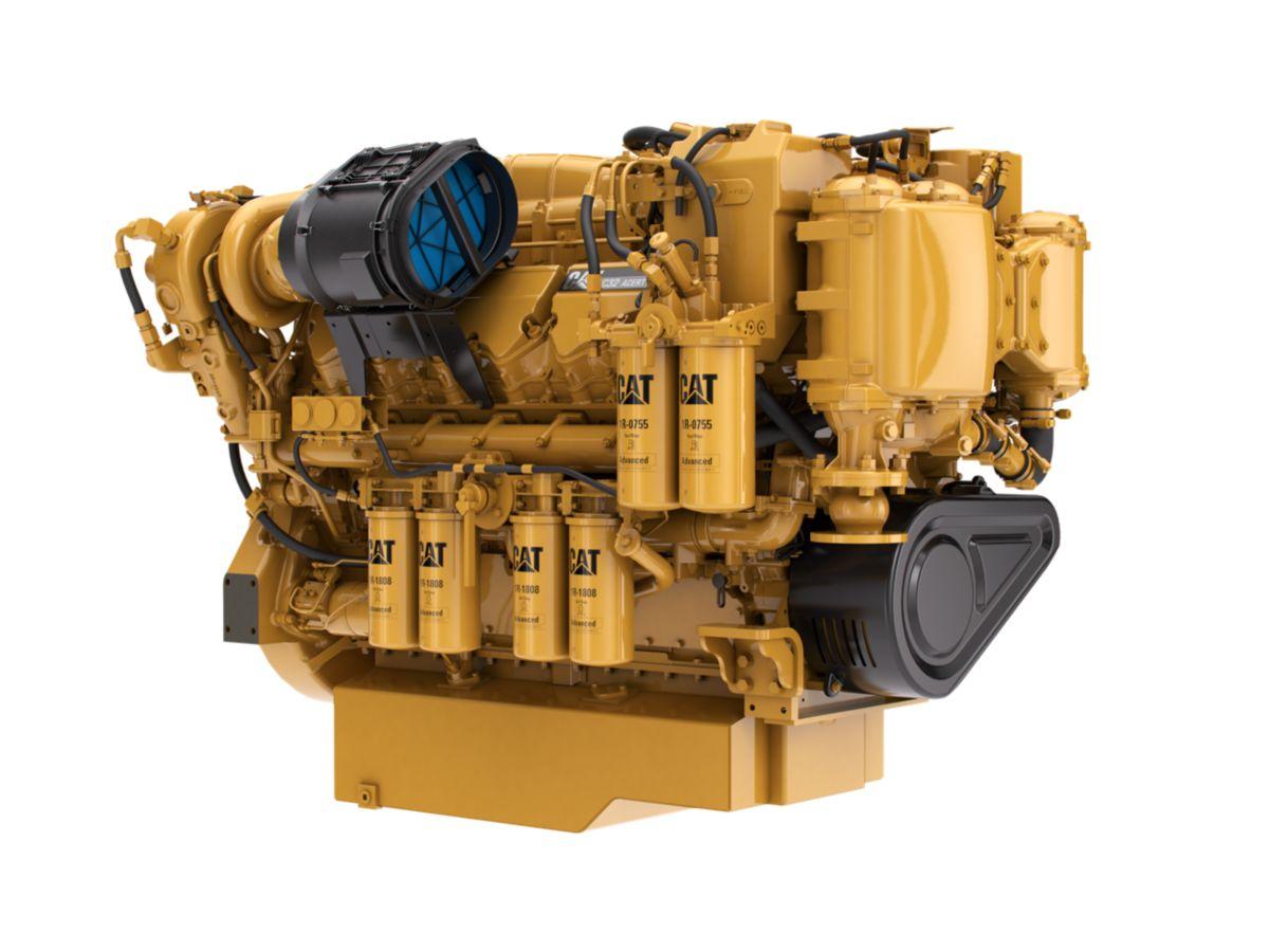 Cat C32 ACERT Marine Propulsion    Engine     EPA Tier 3  Page   Cavpower