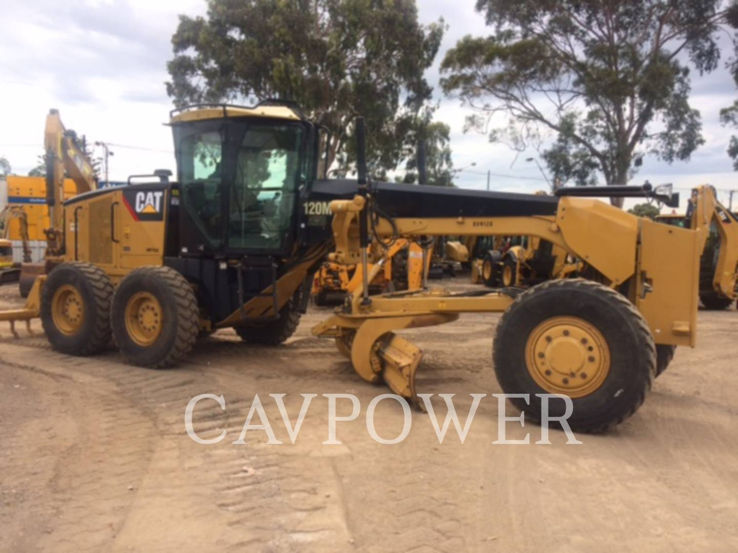 CATERPILLAR 120MAWD Page | Cavpower