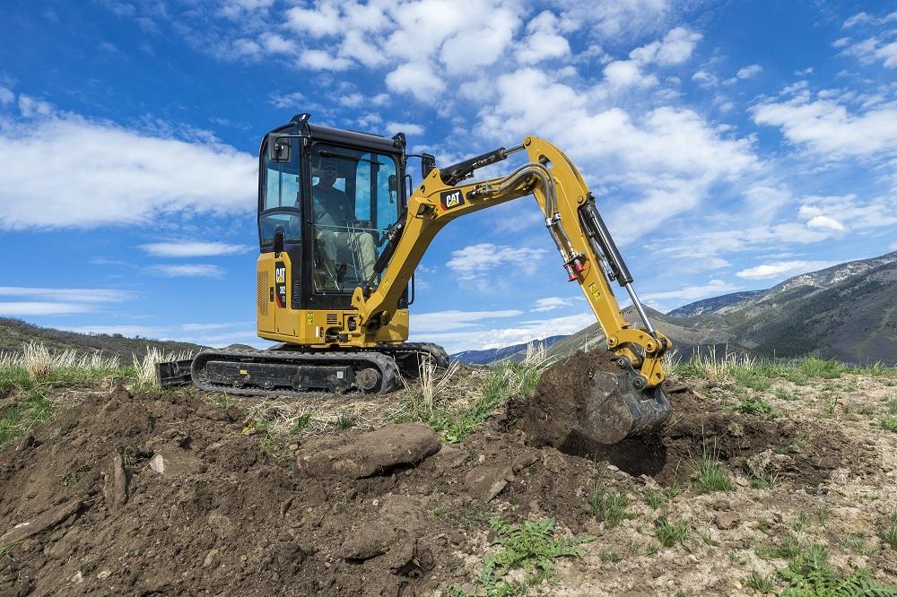 Meet the Next Generation Cat Mini Excavators