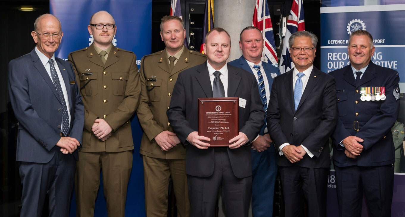 DEFENCE RESERVES SUPPORT COUNCIL ANNUAL AWARDS CEREMONY