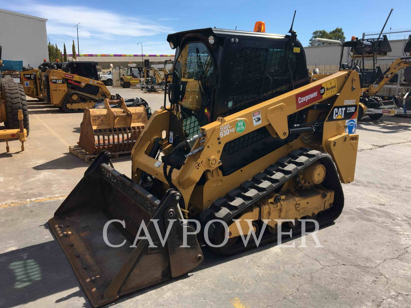CATERPILLAR 239DLRC Page | Cavpower