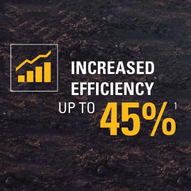 increased efficiency