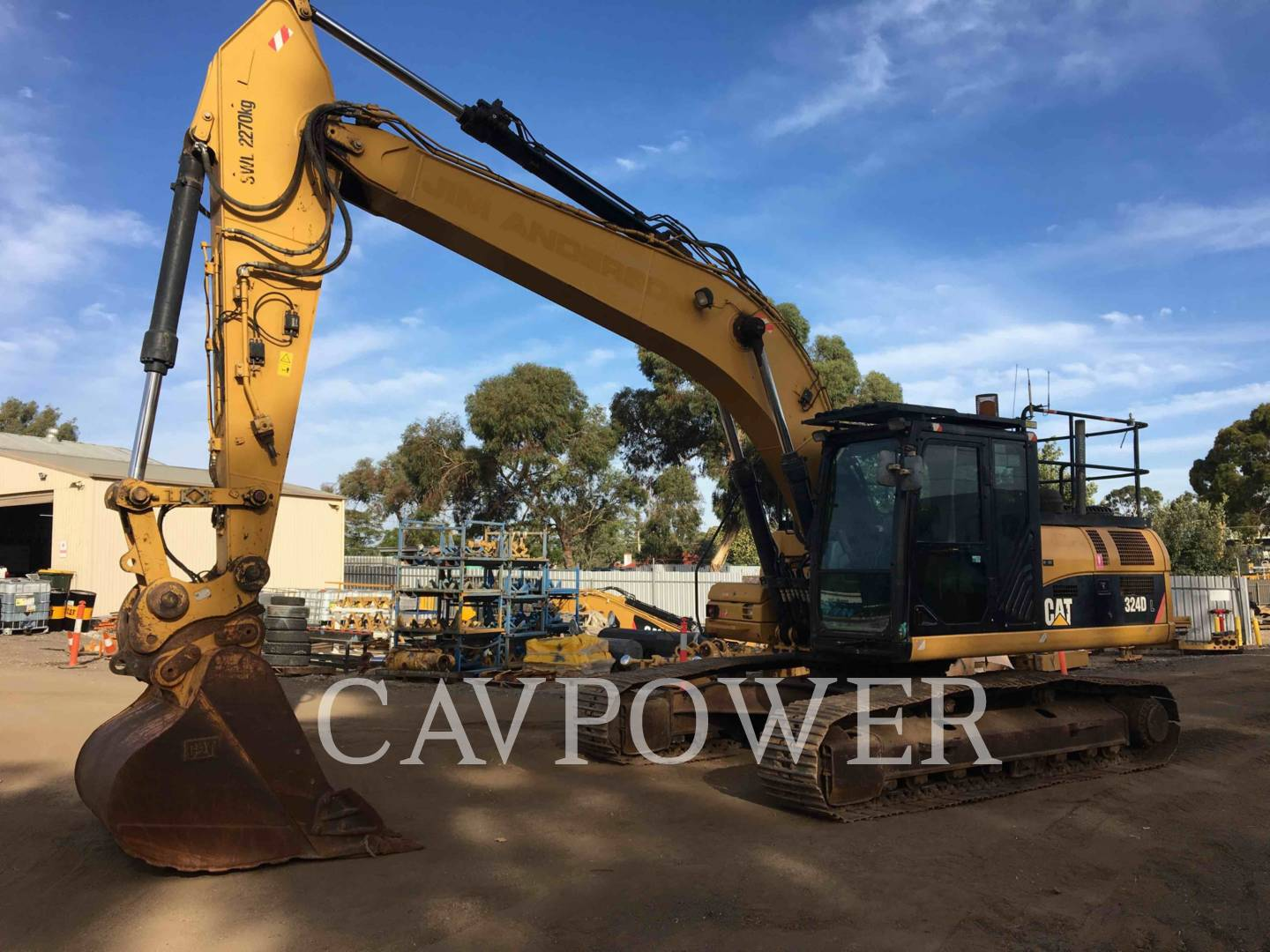 CATERPILLAR 324DL Page | Cavpower